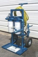 Oil_filtration_mobile_cart_dual_spin_on