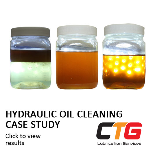 Hydraulic oil cleaning case study link